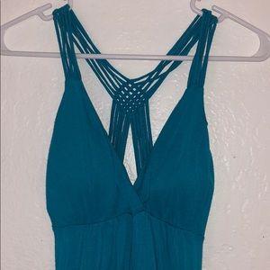 Blue mermaid dresses
